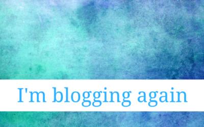 I Want to Blog Again